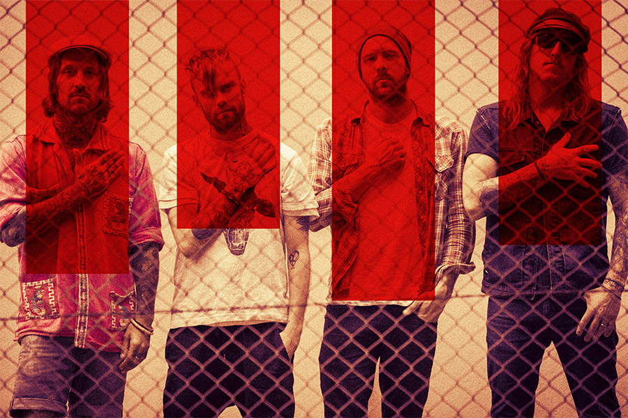 The Used Announces Co-Headlining Tour With Chevelle