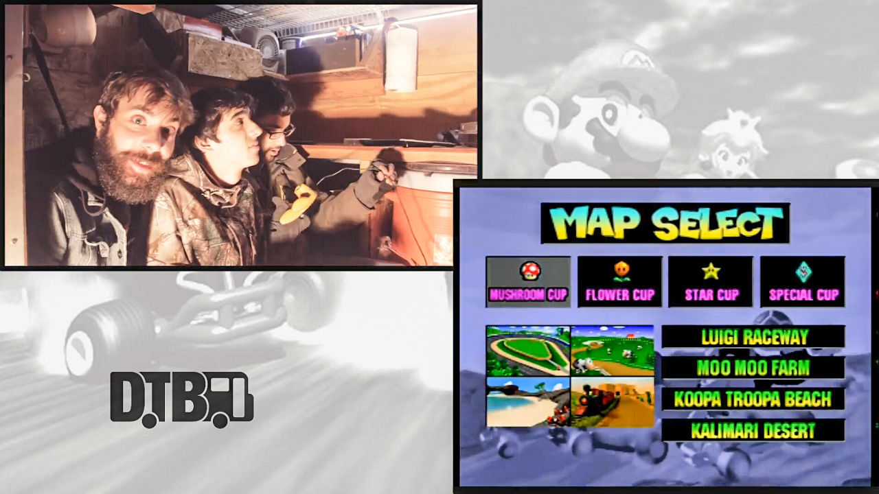 The Ongoing Concept Plays Mario Kart 64 – VIDEO GAMES ON TOUR Ep. 1 [VIDEO]