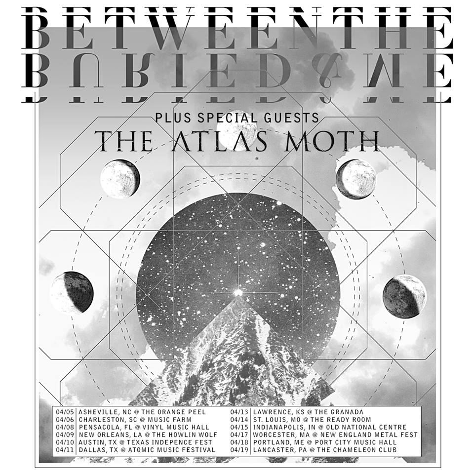 Between The Buried And Me - U.S. Spring Tour - poster