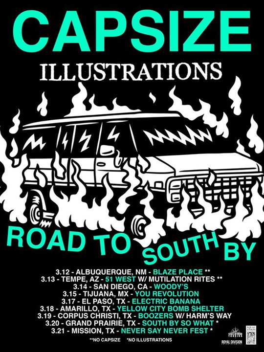 Capsize - Road To South By Tour - 2015
