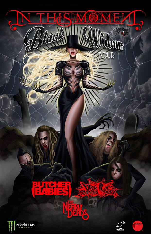 In This Moment - Black Widow Tour - poster