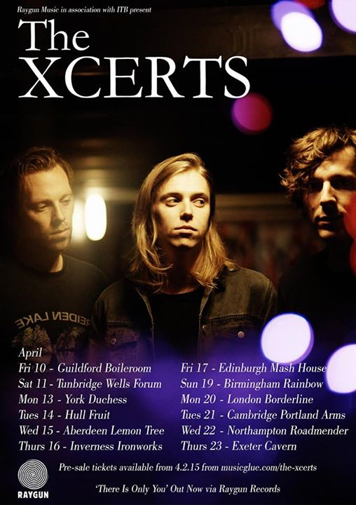 The Xcerts - Spring Tour - Poster - 2015