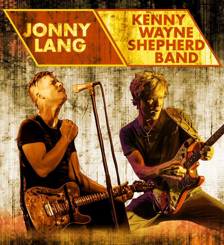 Jonny Lang - Co-Headlining U.S. Tour With Kenny Wayne Shepard Band - poster