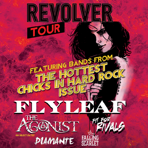 "Revolver's ""Hottest Chicks In Hard Rock Tour"" feat. Flyleaf + DIAMANTE – Ticket Giveaway"