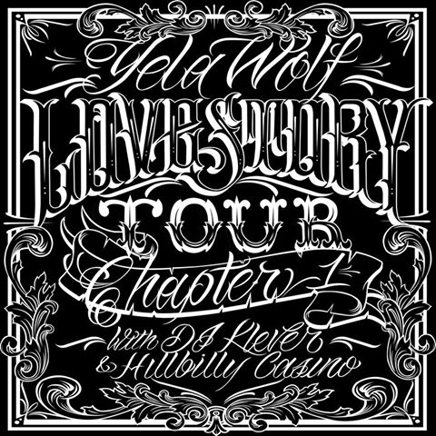 Yelawolf - The Love Story Tour 2015 - poster