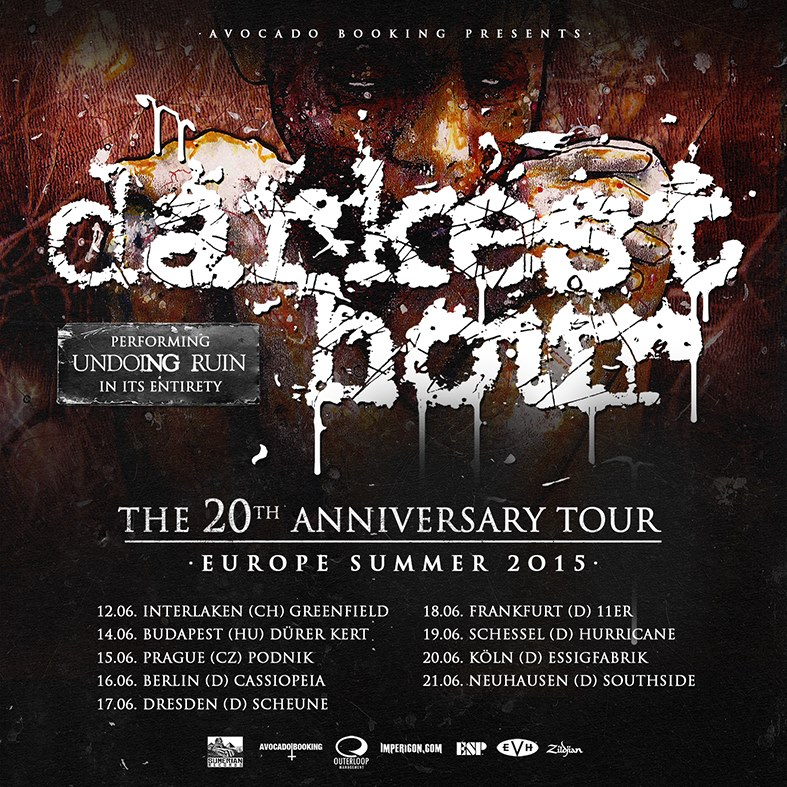 Darkest Hour - 2015 Tour Poster