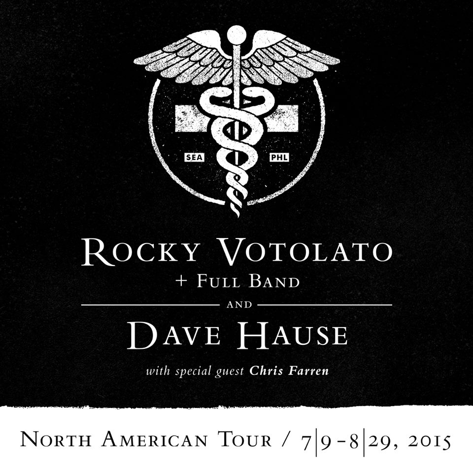 Rocky Votolato Co-Headlining 2015