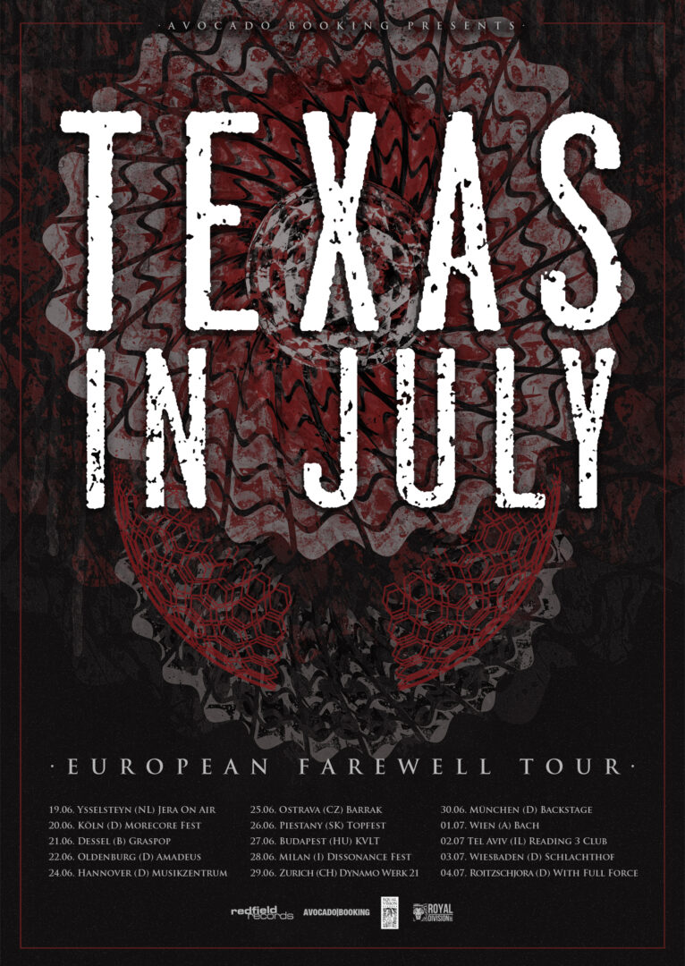 Texas In July - 2015 Tour Poster