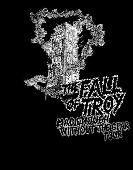 The Fall of Troy - 2015 Tour Poster