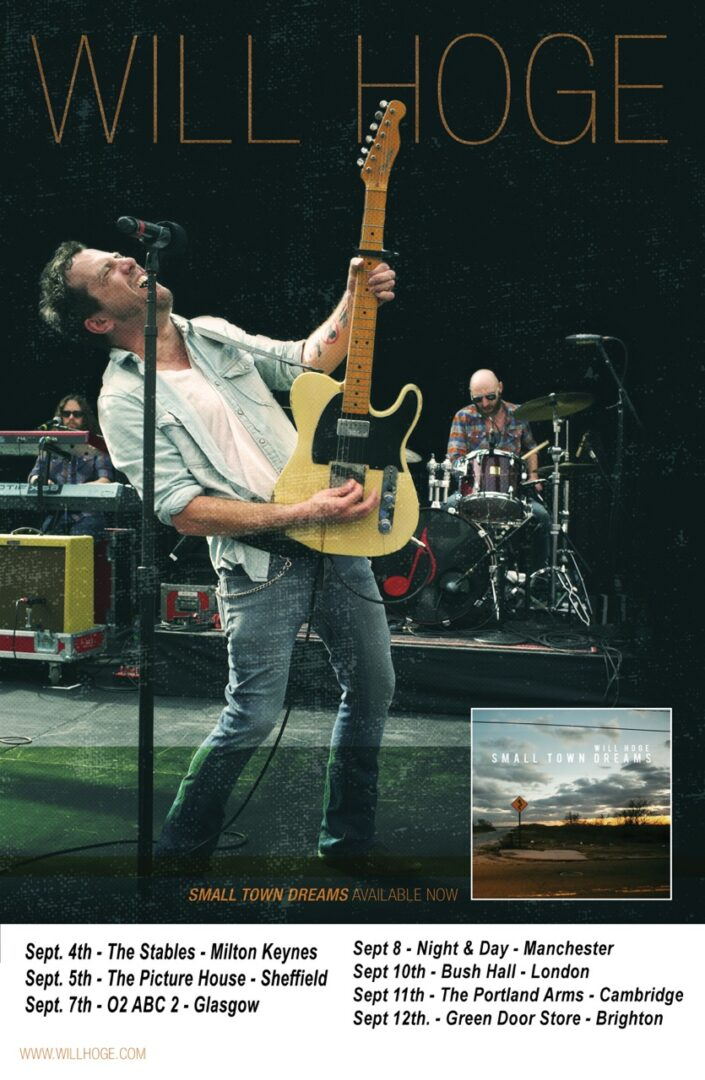 Will Hoge Fall UK Tour