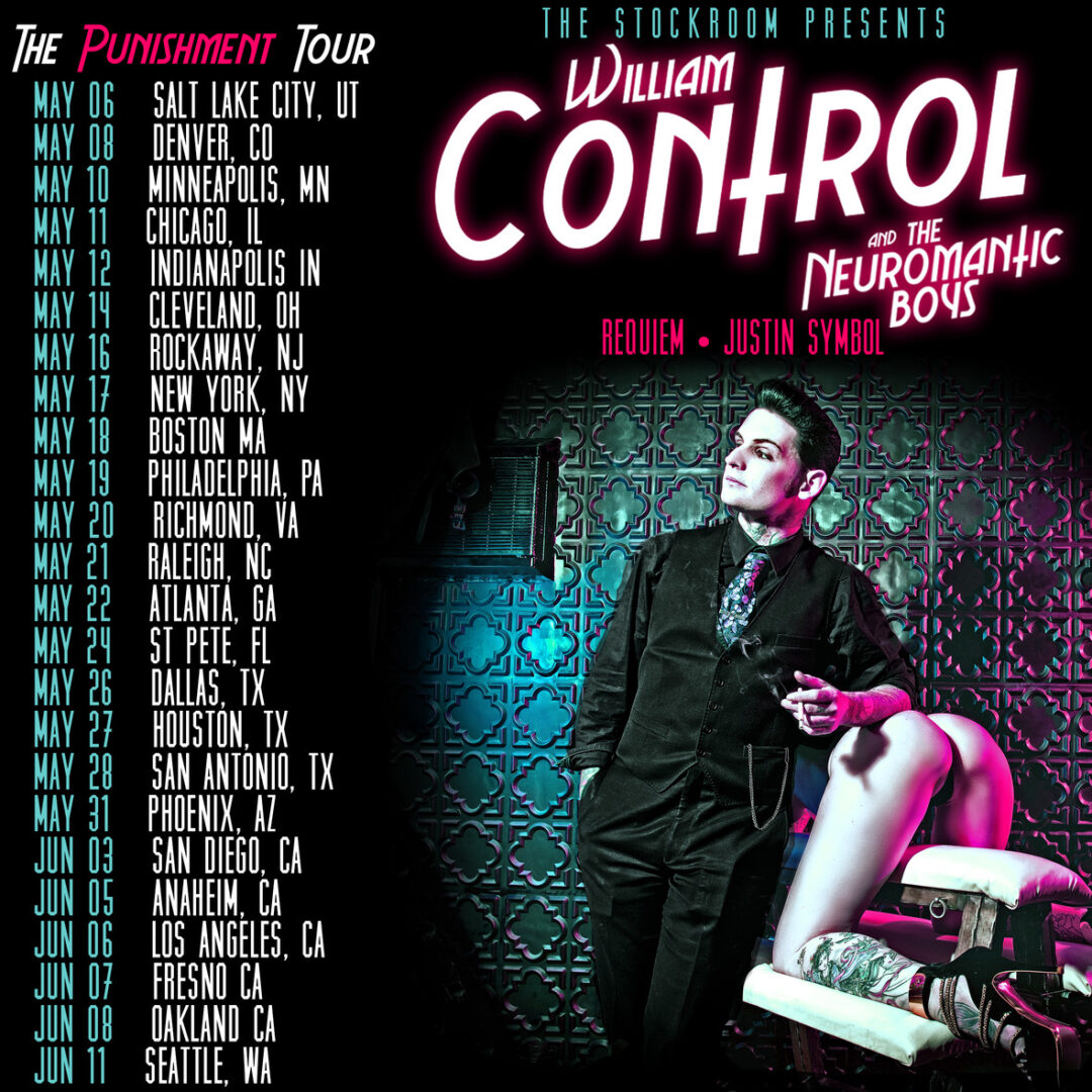 William Control - The Punishment Tour North America - poster