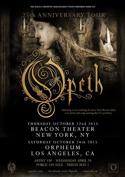 Opeth-25-Anniversary-Tour-poster