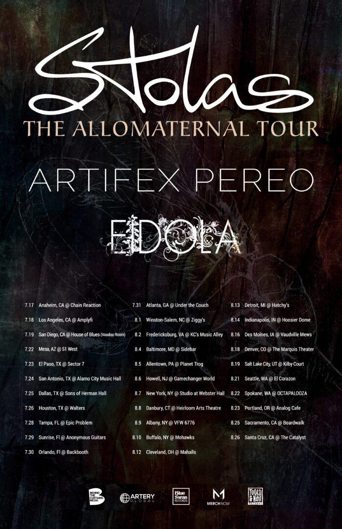 Stolas - Allomaternal Tour - poster