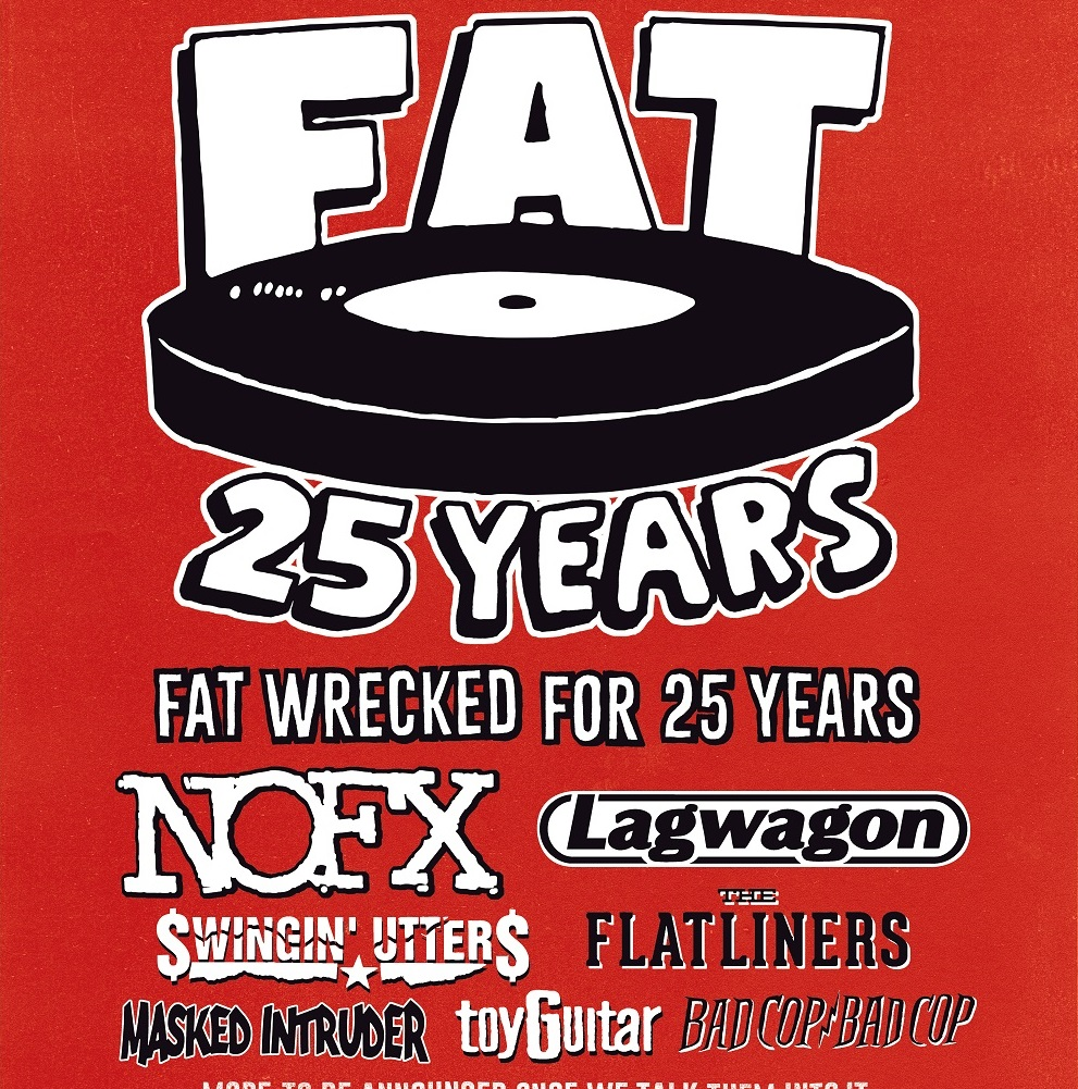 """NOFX's """"Fat Wrecked for 25 Years Tour"""" – Ticket Giveaway"""