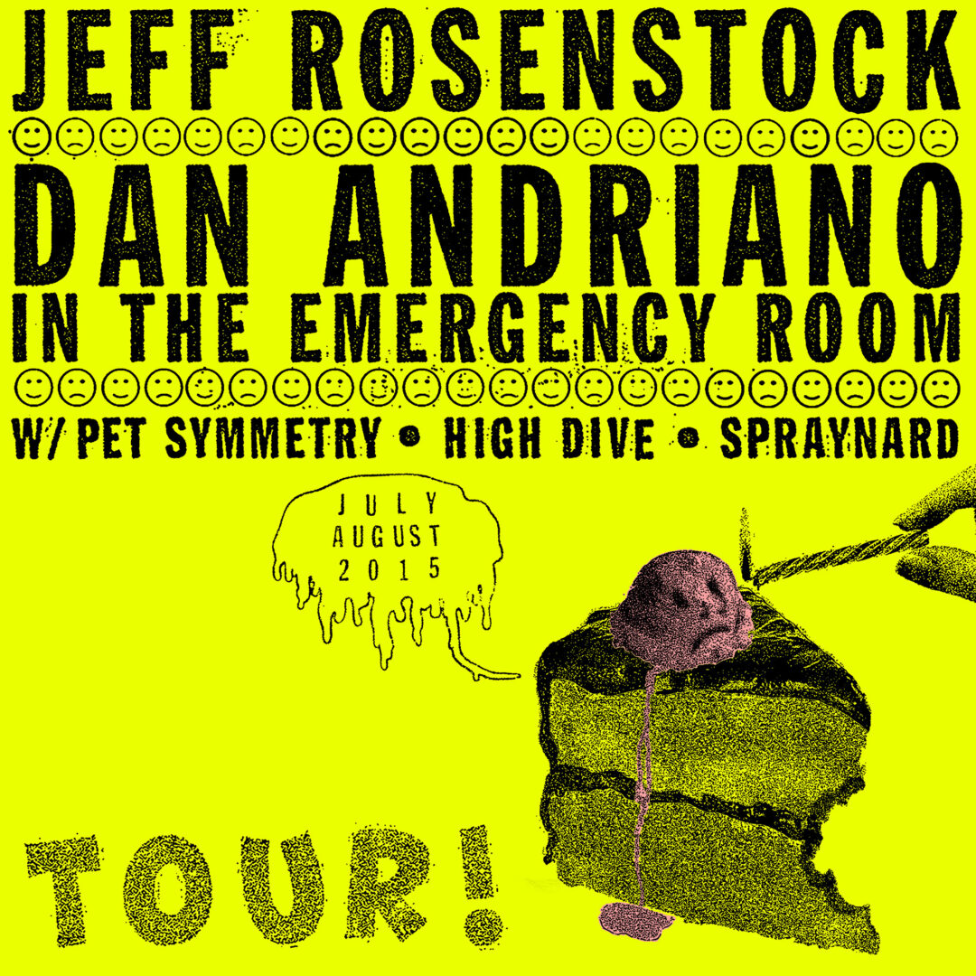 Jeff Rosenstock - Coheadlining U.S. Tour With Dan Andriano In The Emergency Room - poster