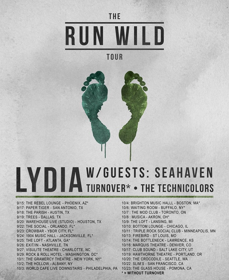 Lydia- The Run WIld Tour