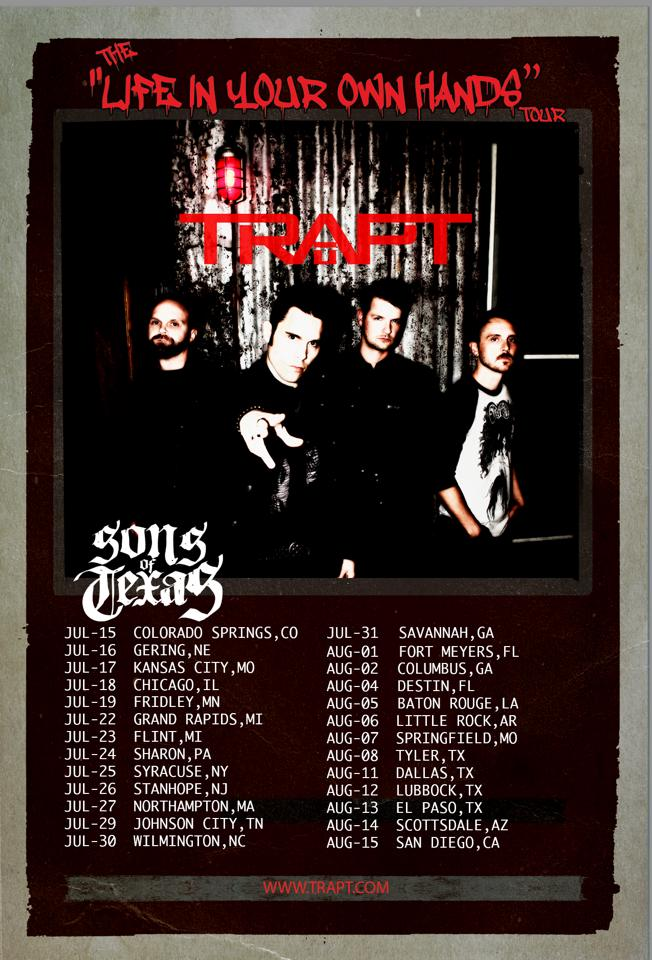 Trapt-Life-In-Your-Own-Hands-Tour-poster