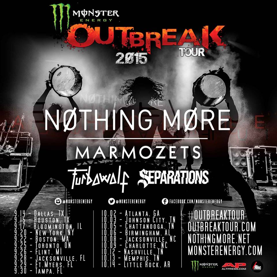 Nothing-More-Monster-Outbreak-Tour-poster