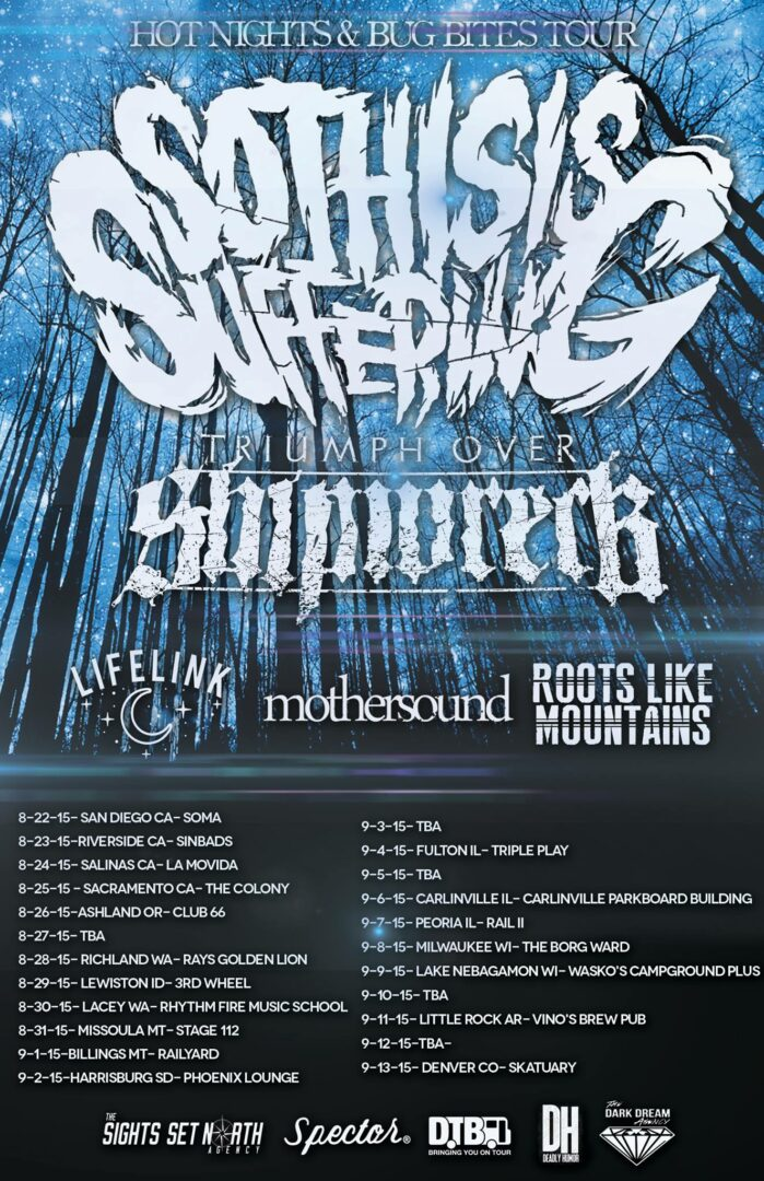 So This Is Suffering - Hot Nights & Bug Bites Tour - poster