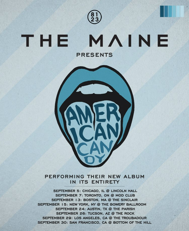 The Maine Presents American Candy