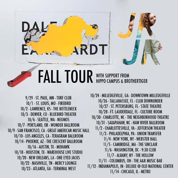Dale Earnhardt Jr Jr - Fall Headlining U.S. Tour 2015 - poster