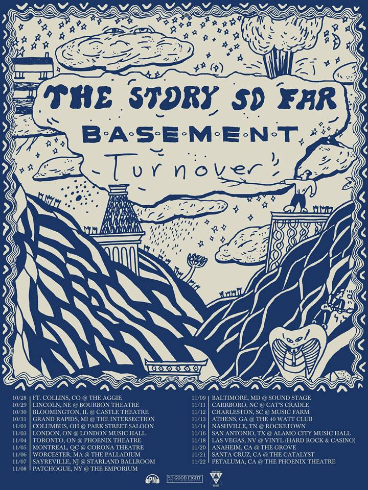 The Story Sp Far - Tour w:Basement, Turnover