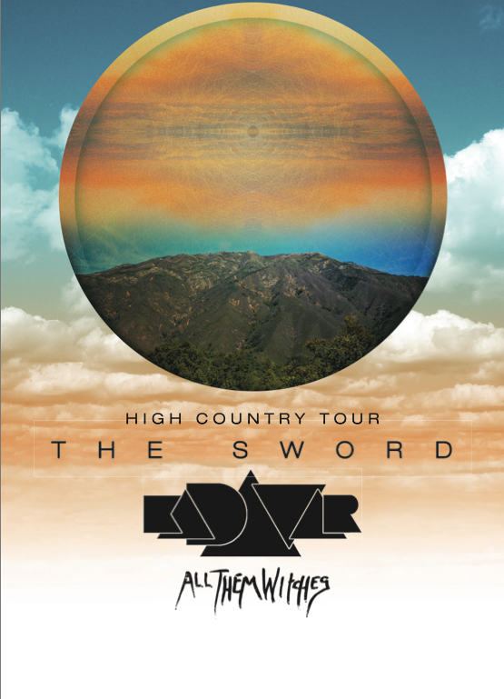 The Sword - Leg 1 of North American Tour - poster