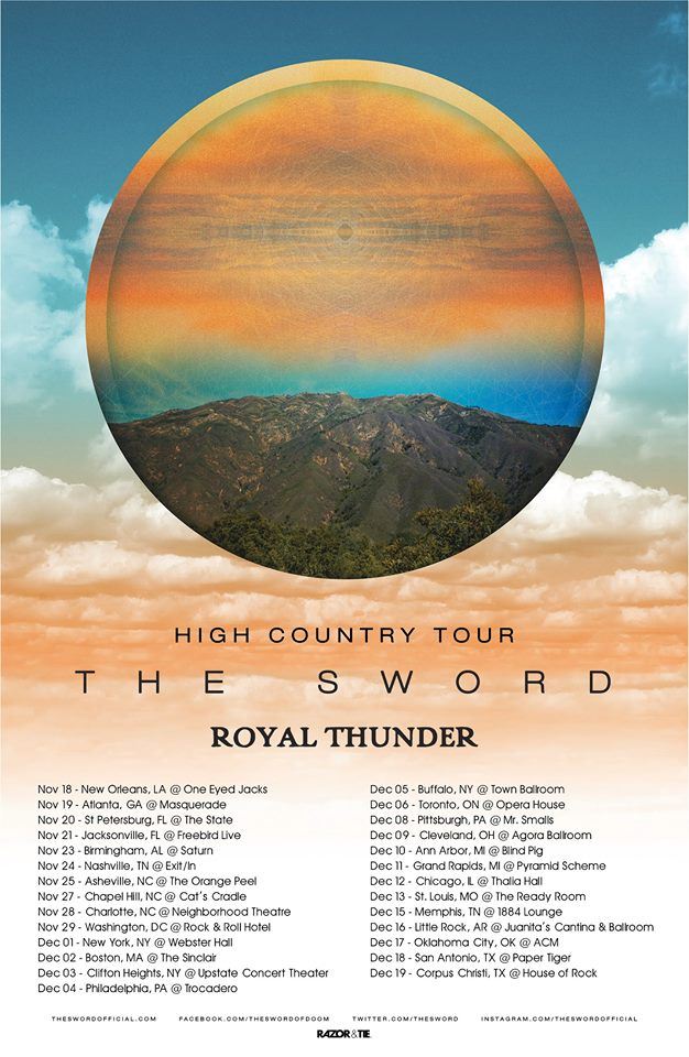 The Sword - Leg 2 of North American Tour - poster