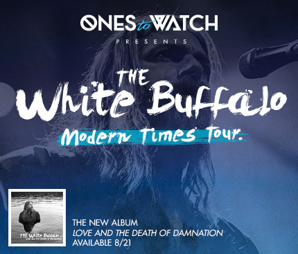 """The White Buffalo's """"Modern Times Tour"""" – Ticket Giveaway"""