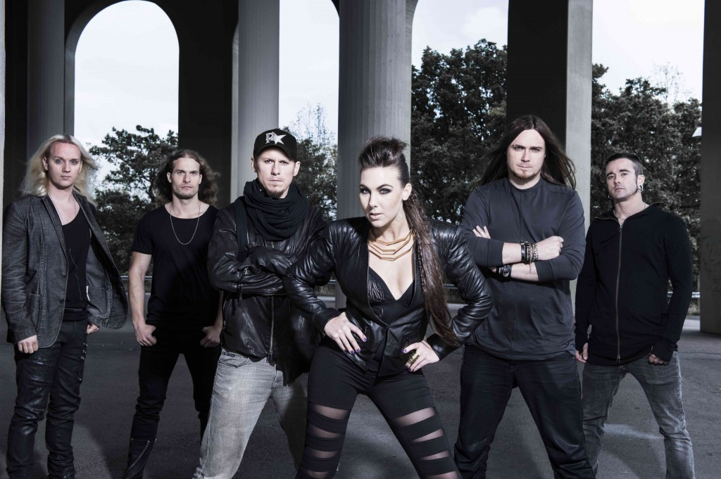 "Amaranthe Announces ""Massive Collision Tour 2015"""