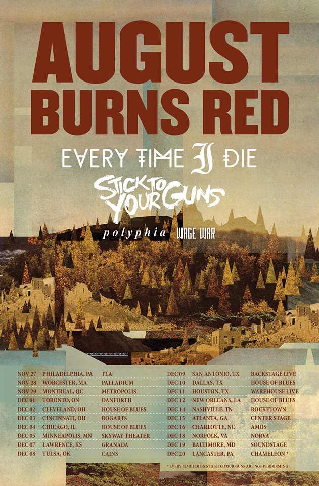 August-Burns-Red-Fall-U.S.-Tour-poster