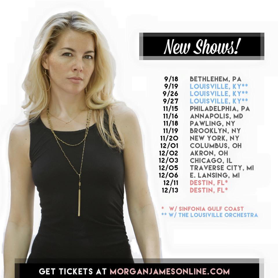 Morgan James - Fall Tour