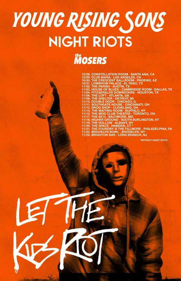 Younf Rising Sons - US Tour