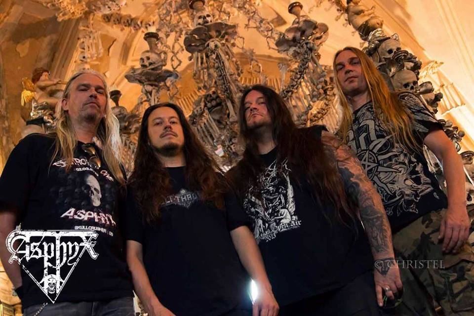 Asphyx Announces South American + European Tours