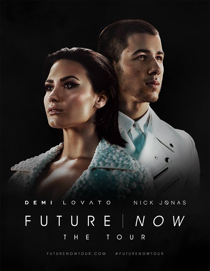 Demi Lovato - The Futre Now Tour With Nick Jonas - poster