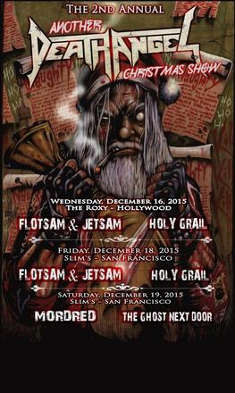 Holy Grail - Another Christmas Show Support - 2015 Tour Poster