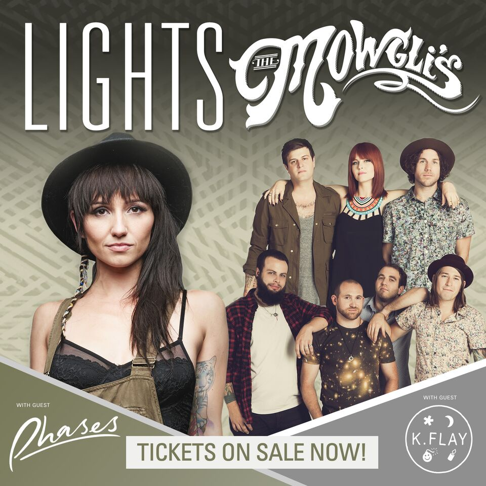 Lights + The Mowgli's Co-Headline U.S. Tour – Ticket Giveaway