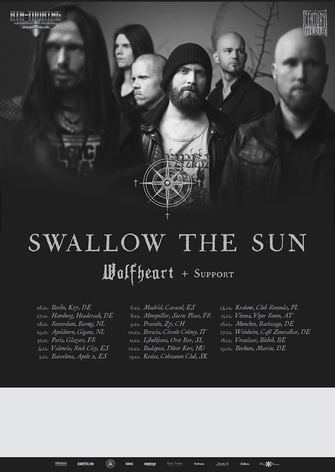 Swallow The Sun - European Headliner