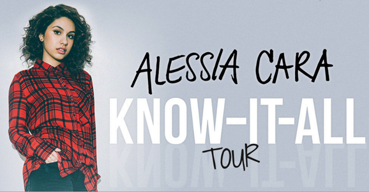 Alessia Cara - Know-It-All North American Tour - 2016 Tour Poster