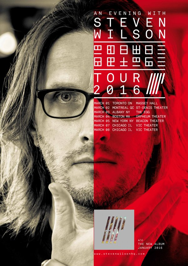 Steven Wilson-US & Canada tour-poster