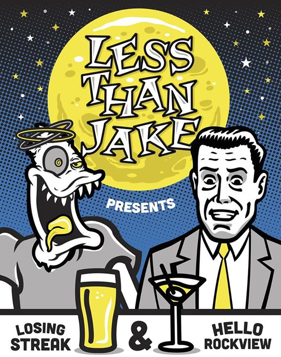 Less Than Jake-2016 US Tour-poster