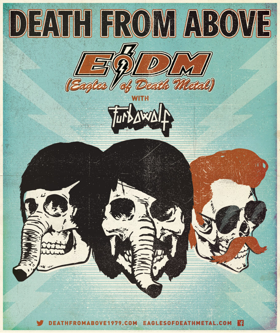 Death From Above 1979-Canadian Tour-poster