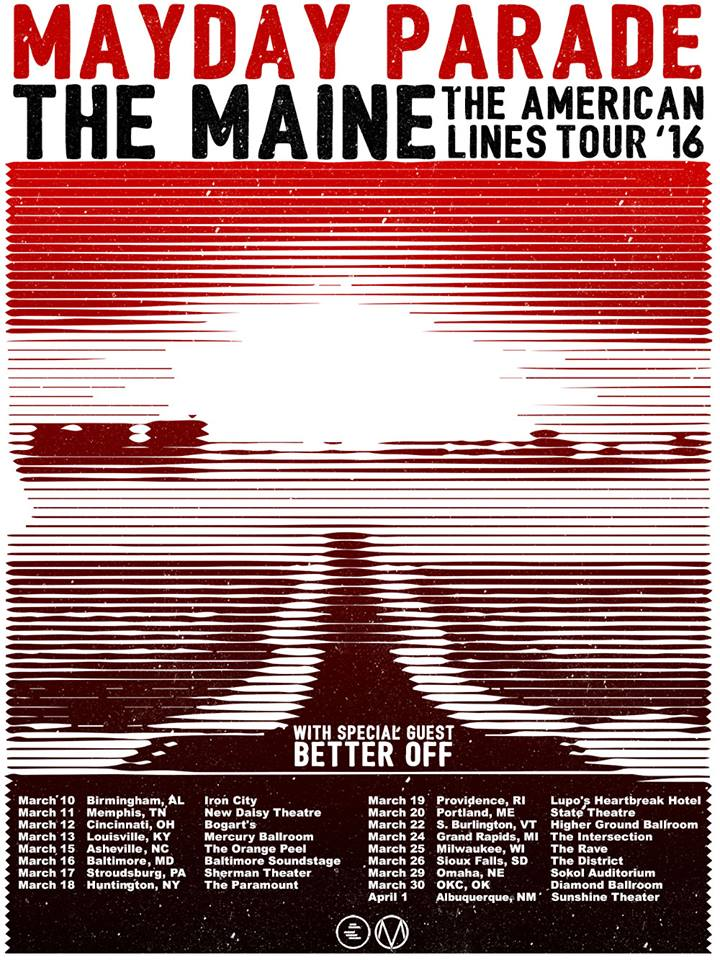 Mayday Parde:The Maine Tour
