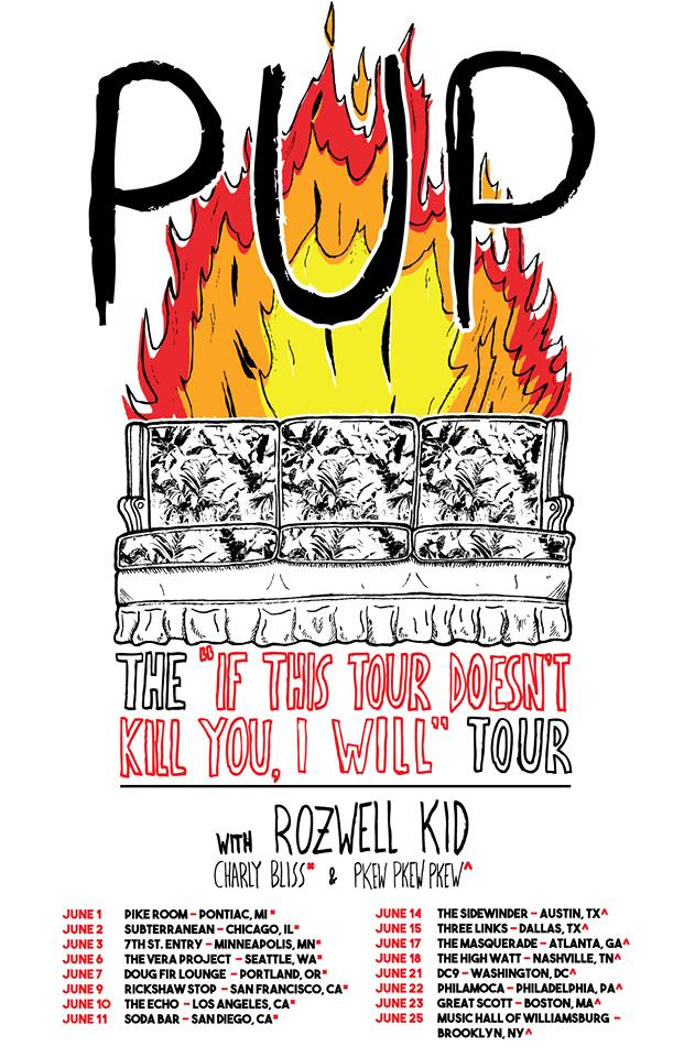 Pup- If This Tour Doesn't Kill You, I Will Tour - poster