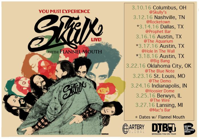 The Skulx - You Must Experience Tour - poster