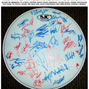 Vans Warped Tour 2016 Signed Drum Head Giveaway