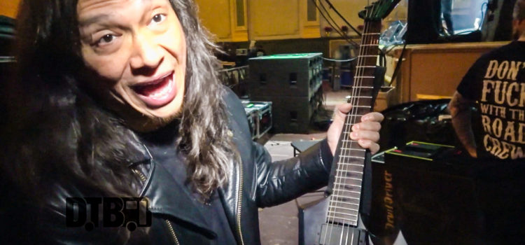 Death Angel's Rob Cavestany – GEAR MASTERS Ep. 108 [VIDEO]