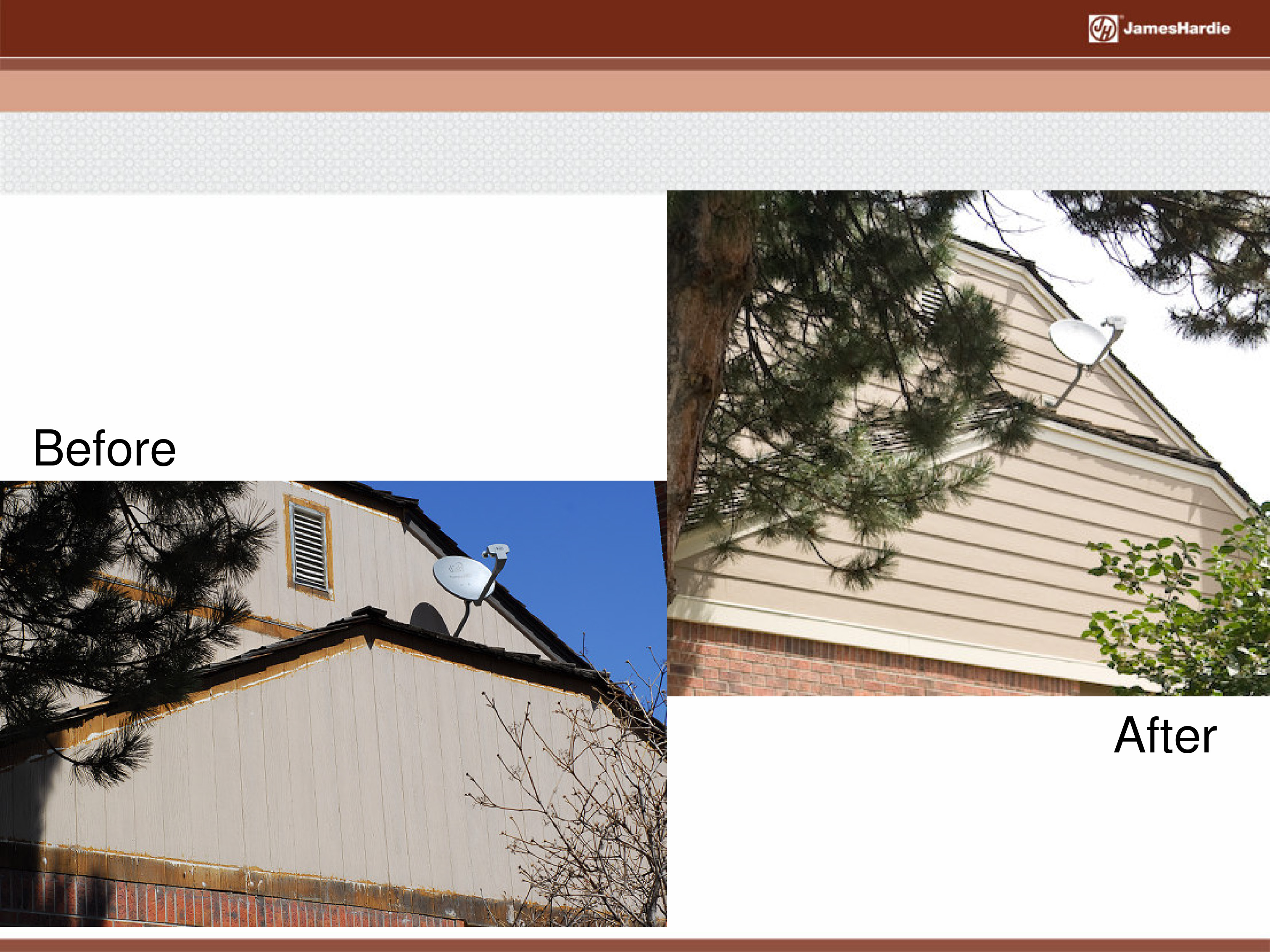 Before and After James Hardie Siding 18