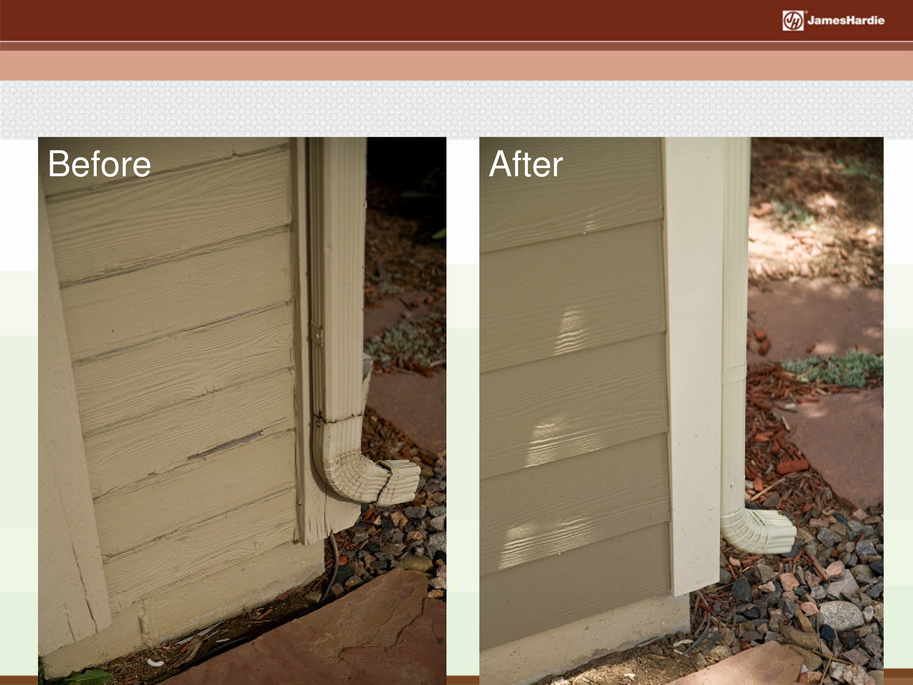 Before and After James Hardie Siding 22