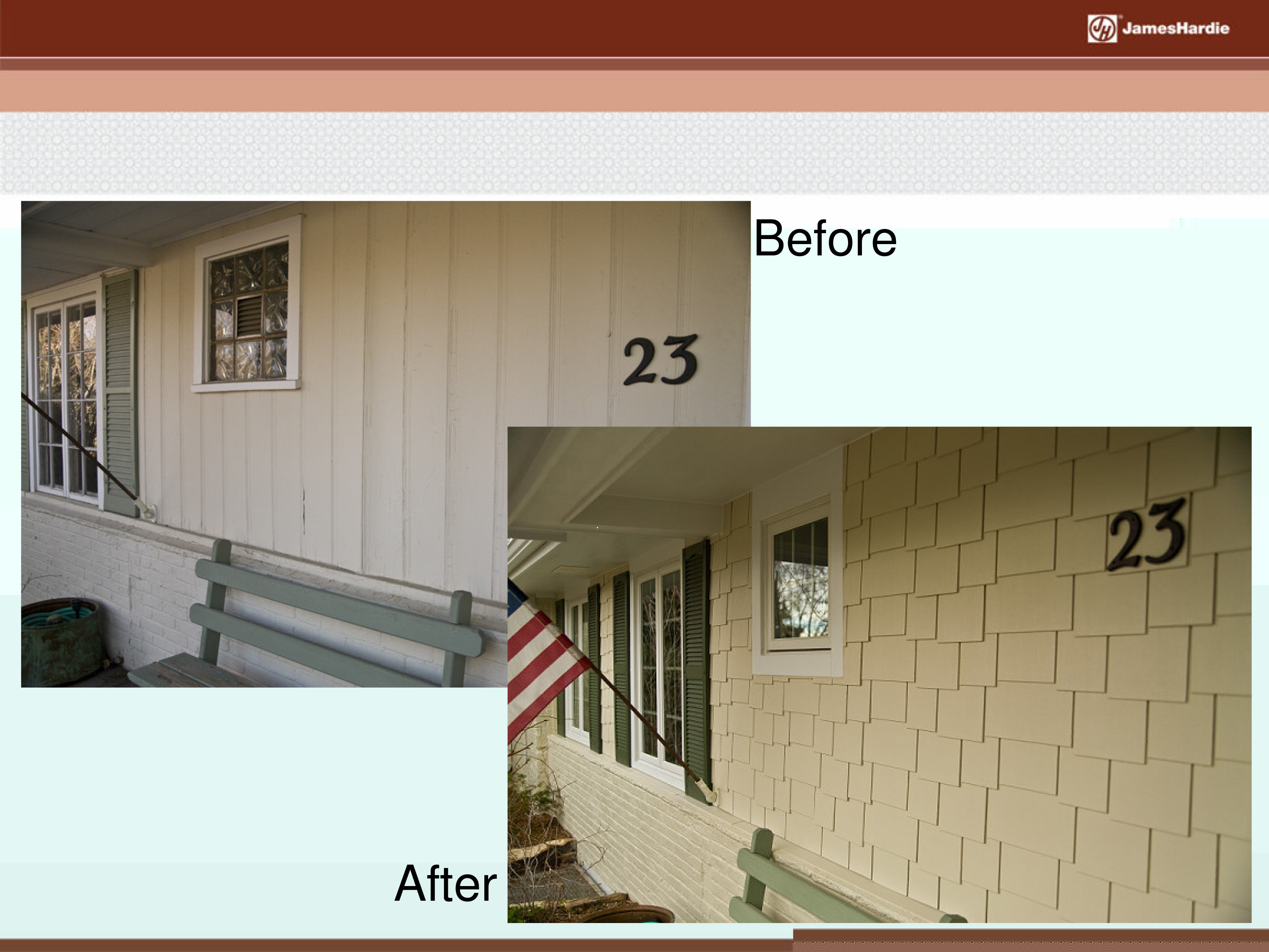 Before and After James Hardie Siding 31